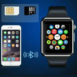 W08 Bluetooth Smart Watch Touch Screen Mobile Phone - FIX PRICE
