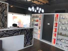 Luxury unisex family salon