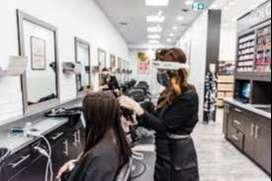 Job vacancy for unisex salon