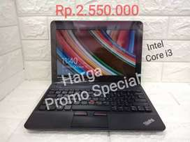 Nego Aja//Lenovo Thinkpad X131e//Core i3-Ram 4