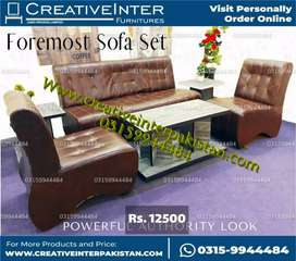 Sofa set fitstyle table Computer study workstation bed set chair