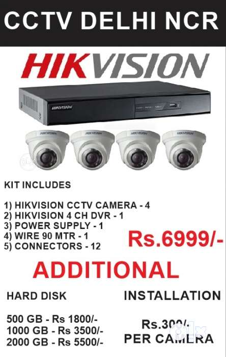 Purchase CCTV Camera - High Quality, Factory Price Brand Hikvision 0