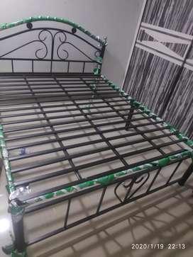 Steel Queen Size Bed