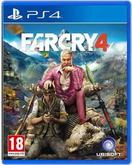 Far cry 4 ps4 disc in best condition