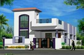 Row houses @ Sangareddy with Loan facility