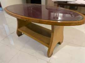 Premium Coffee Table Designed by master Handicrafts.Moving out sale