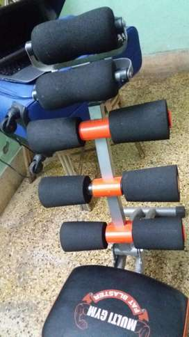 Multi Gym Fat Blaster , almost new condition , orange colour
