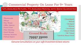 Bank Guarantee on 9 years lease, Invest in Commercial Shop /Showroom