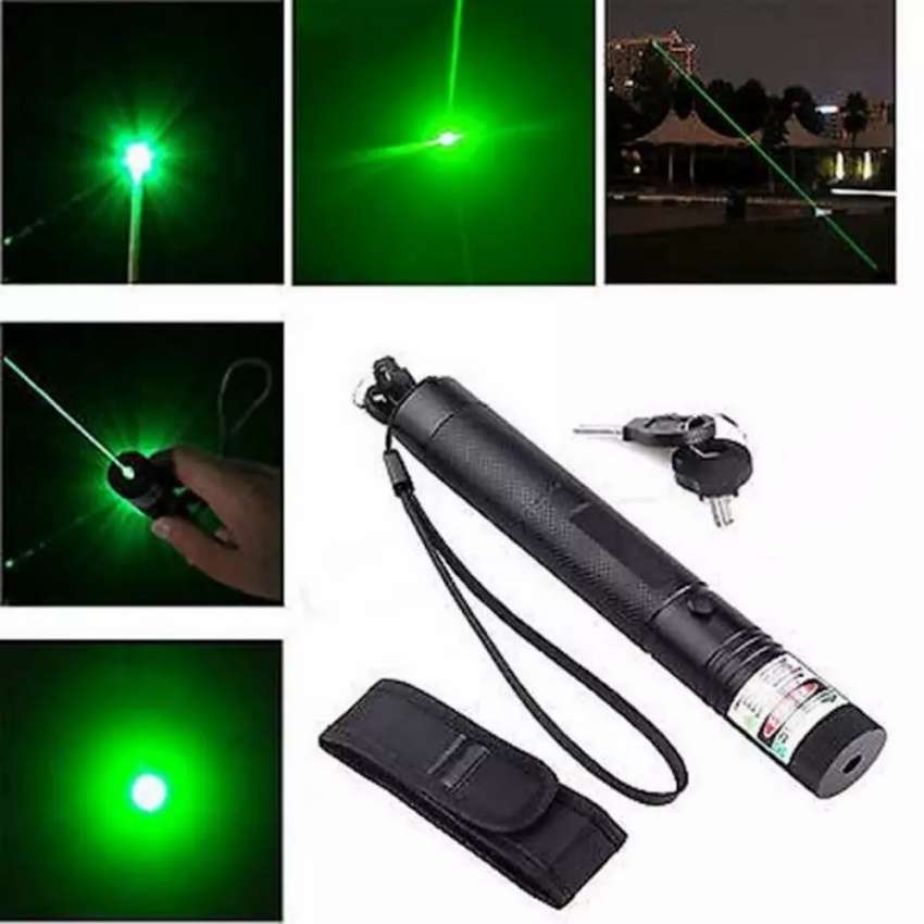 Green Laser Pointer Laser Pen Rechargeable Light Compact Size 0