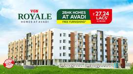 VGN Royale offers 2 BHK luxurious Apartments in Avadi