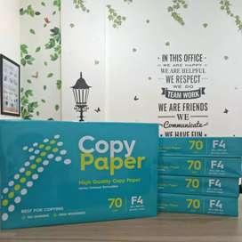 Kertas Copy Paper 70gr ukuran A4 dan F4