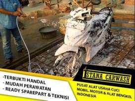 Paket Usaha Cuci Motor Standar Tanpa Hidrolik (MTM-01) Sama Dua