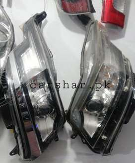 Move head light tail light and other body parts