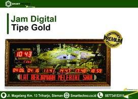Toko Jam Digital Untuk Masjid wilayah Bengkulu Tengah Type Gold
