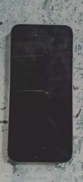 Iphone 5s with box chatger