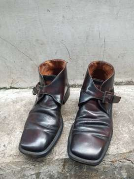 Sepatu Pantofel Pria Kulit GUCCI ORI ITALY