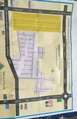 Plot sale in Thindivanam to Mailam route