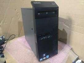 Branded Lenovo tower Core I7 4th gen 4gb ram 500 gb hdd dvd warranty