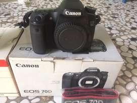 Canon 70d wifi+lensa 17-40
