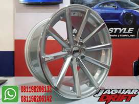 Toko Velg Ban mobil Hsrwheel Ring 17x7,5-9 Hole 4x100 4x114,3