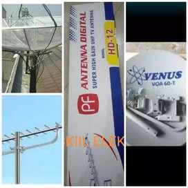 Antena tv digital bergaransi