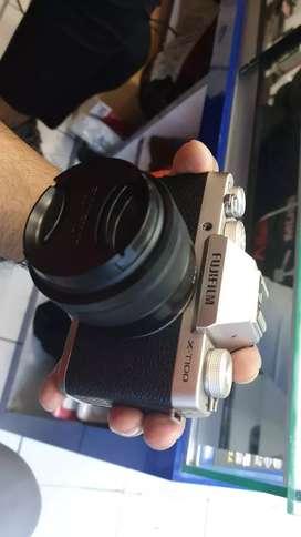 Kredit Kamera Fujifilm XT 100 Lensa 15-45mm
