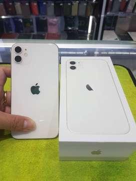 white color i-phone 11