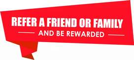 Refer a friend and earn unlimited