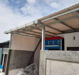 Kanopi Alderon desain rumah minimalis anti Karat 0.44