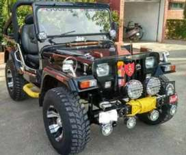 Willy open modified jeep