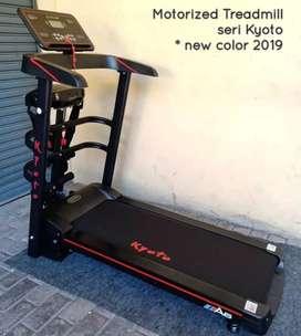 Treadmill kyoto elektrik best kualitas siap antar tujuan