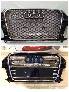 Grills for Audi, BMW, Mercedes-Benz, Mustang