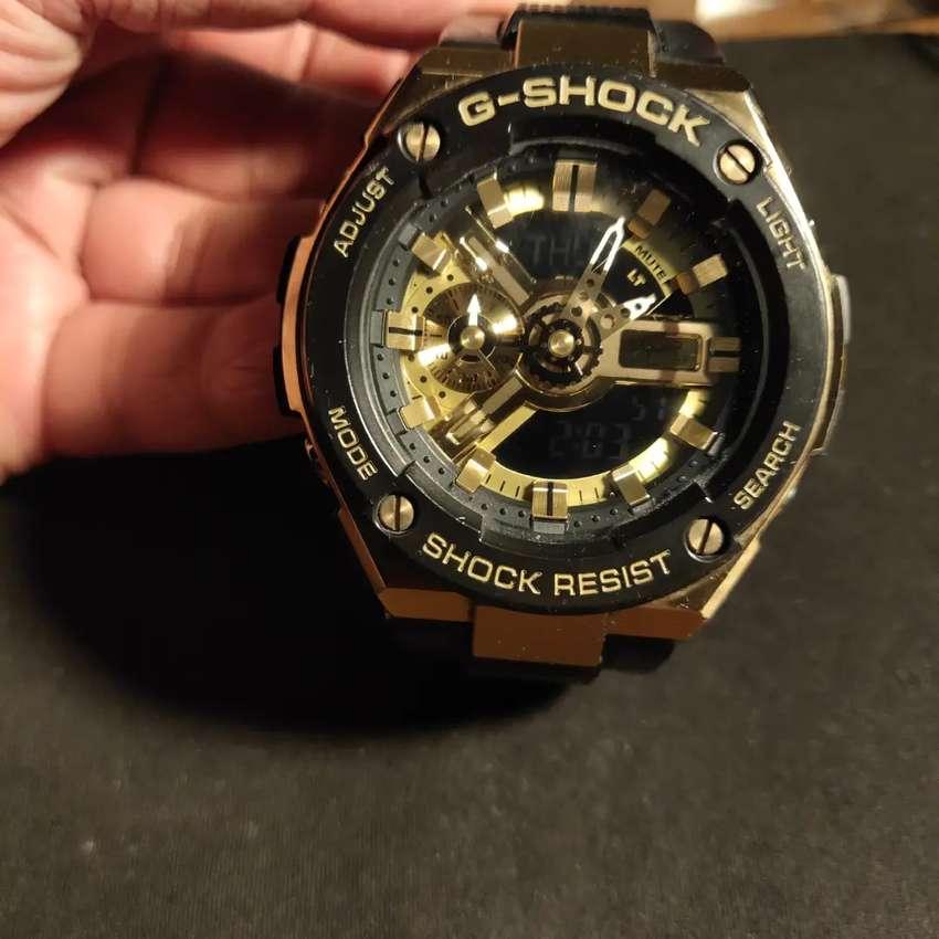 G Shock GST 400G 1A9 Gold