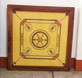 34 x 34 and 39 x 39 Carrom Board with complete accessories
