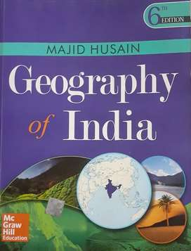 Geography of india 6th edition (majid hussain)