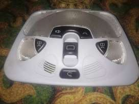 Mercedes e 240 roof light and back view mirror