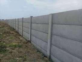 Uditch dan Pagar Panel Beton Precast Surabaya