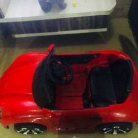 kid red colour car for drive