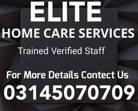 ELITE) Provide Cook, Driver,Maid,Couple, Patient Care, Nurse Available