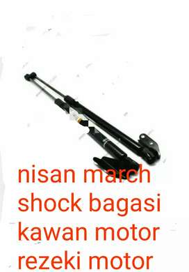 Shock bagasi nissan march