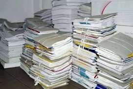 Beli barang bekas buku koran kardus dll