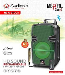 Audionic Mehfil MH 8 plus - Rechargeable Speaker with wire mic