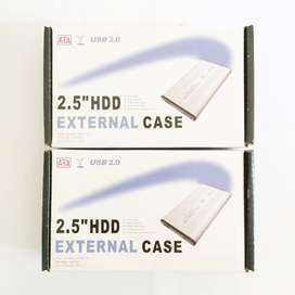 """N E W USB 2.0/3.0 to HDD/External Enclosure 2.5""""/Casing HDD Laptop"""
