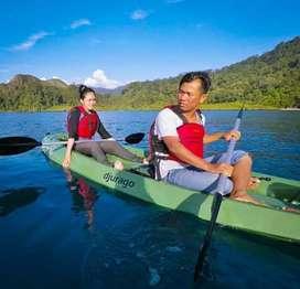 Perahu Dayung Wisata - Kano / kayak untuk 2 oang