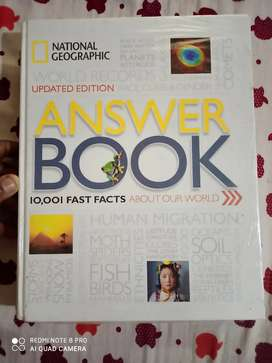 National geographic updated edition of answer book