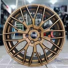 jual velg racing hsr r18x8 pcd 8x100-1143 bronz
