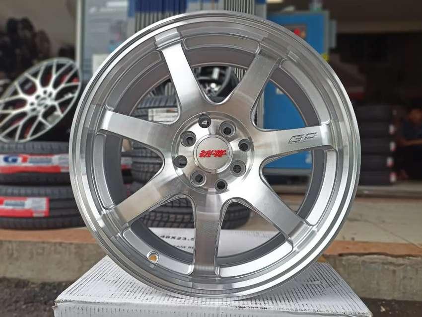 Velg Rep Mugen GT Ring 17x7.5 ET42 Pcd 4x100/114.3 Jazz Yaris Vios dll