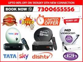 Get 1 Year Free With Tata Sky - Tatasky, Airtel, Dishtv, D2H New HD !!