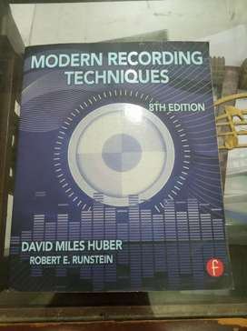 Modern recording techniques 8th edition by David Miles Huber