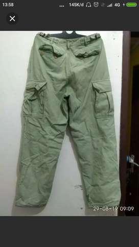 Celana cargo original size30